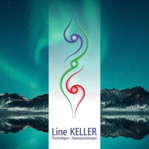 logo-carte-de-visite-line-keller-haptopsychologue-aleb-design